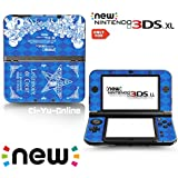 [new 3DS XL] Persona Q Blue Limited Edition VINYL SKIN STICKER DECAL COVER for NEW Nintendo 3DS XL / LL Console System