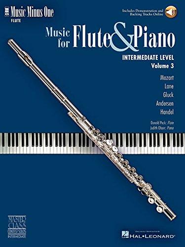 - Music Minus One Flute: Intermediate Flute Solos (Book & CD)