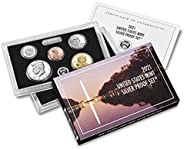 2021 S U.S. Mint 7 Coin Silver Proof Set - OGP box and COA Proof