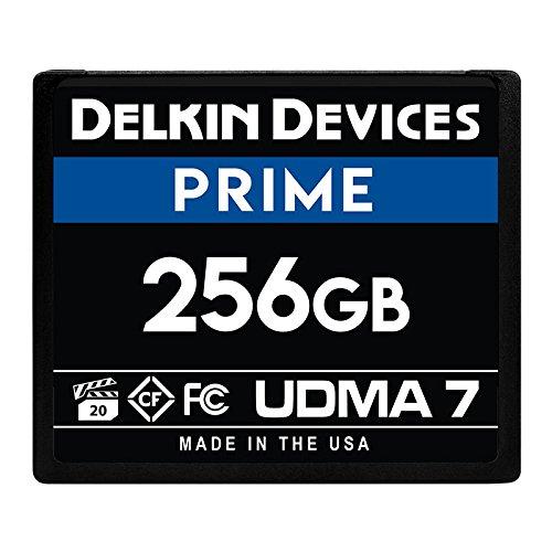 Delkin 256Gb Compact Flash Memory Card 1050x [DDCFB1050256] - Delkin Compactflash Card