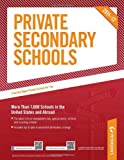 Private Secondary Schools 2011-2012, Peterson's, 0768933129