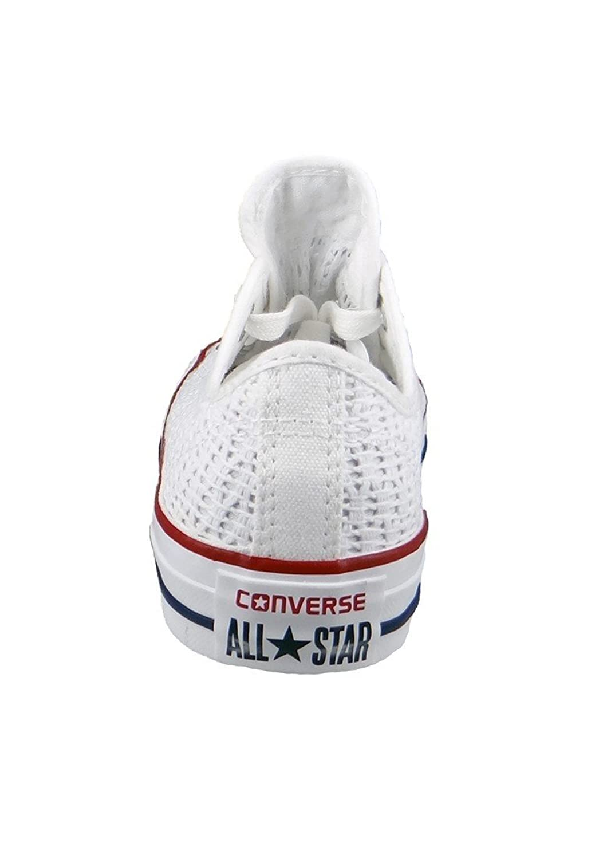 converse blanche crochet
