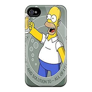 Durable Defender Case For Iphone 4/4s Tpu Cover(solution)