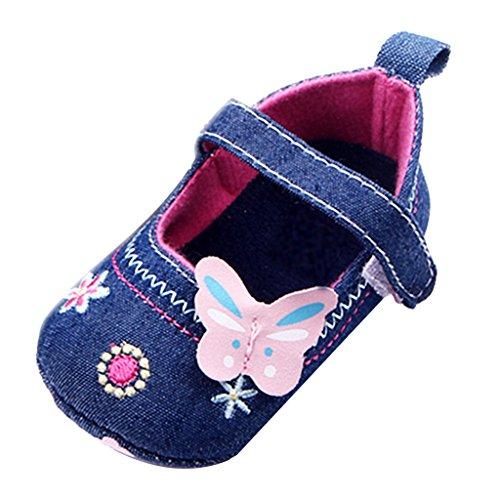 04325951 B Blesiya Zapatos Suave con Gancho Ajustable para Niños Uso Diario Viajar  Centro Comercial Restaurante -