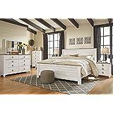 Amazon Com White Bedroom Sets Bedroom Furniture Home Kitchen