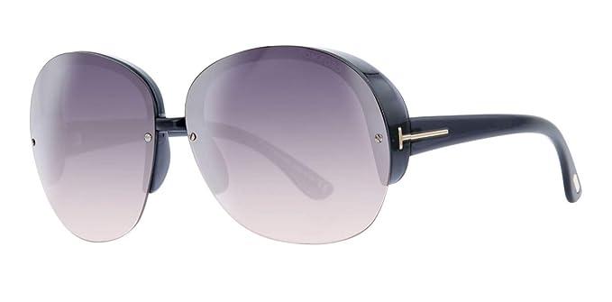 Tom Ford Sunglasses FT0458 6820B Gafas de Sol, Negro ...