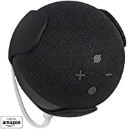 All New, Made For Amazon Wall Mount, Black, for Echo Dot (4th generation)