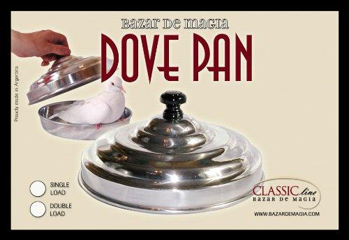 Dove Pan Aluminum - Double Load - Bazar de Magia