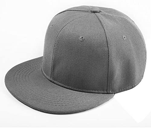 RETYLY Snapback Pianura di Hip-Hop del Berretto da Baseball Ragazzo Regolabile Cappello Blu Chiaro