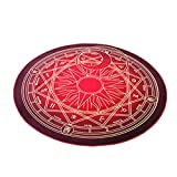 The Magic Circle Pattern Round Carpet Floor Mats Yoga Cushion for Playroom/Cloakroom, #05