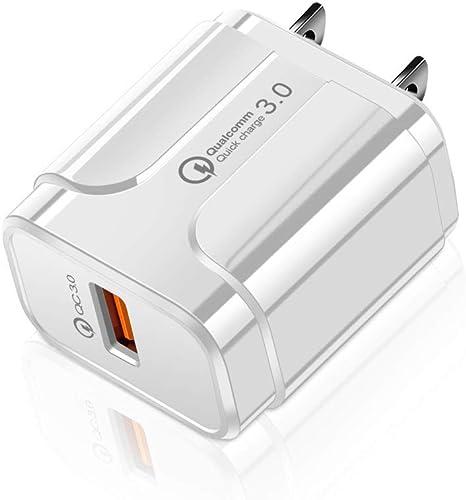 Enchufe del Cargador 3A QC3.0 Solo Cargador USB, Adaptador De ...