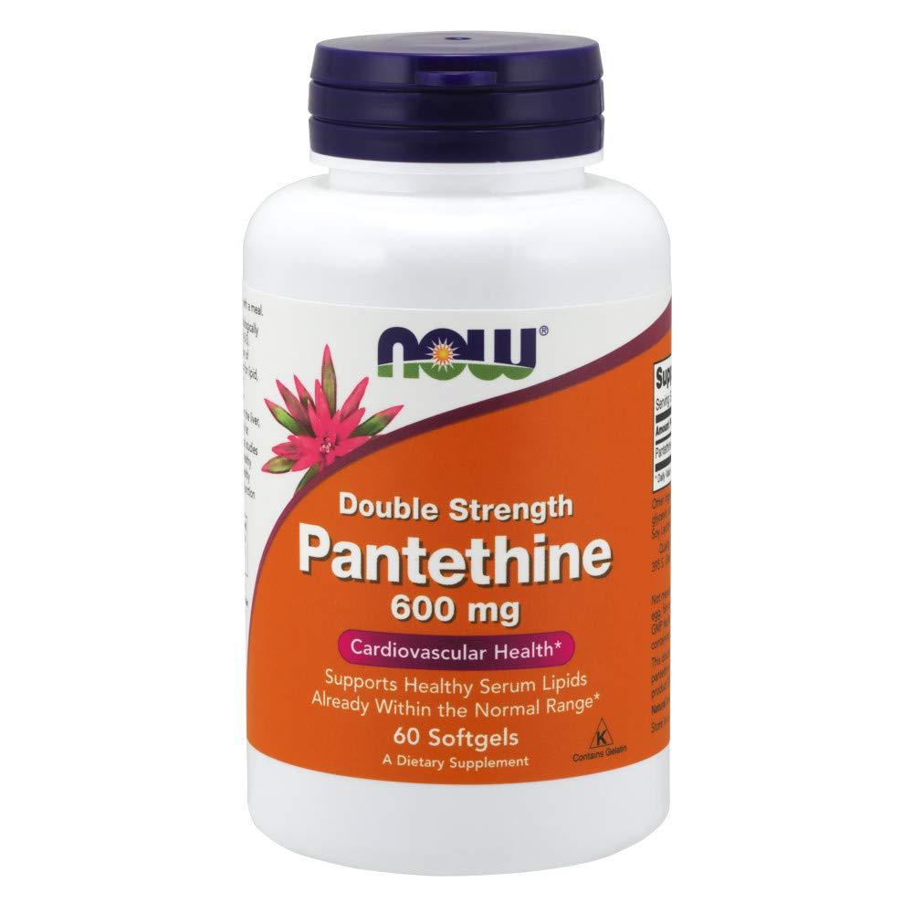 Now Pantethine 600 mg 60 Softgels