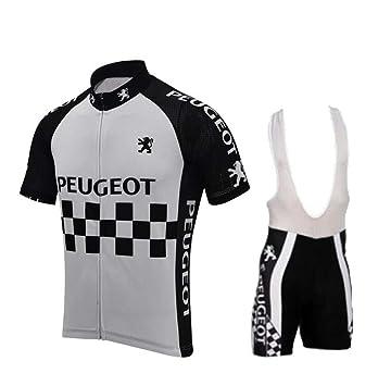 Hombres Ciclismo Jersey Set poliéster Gel Pad Secado rápido ...