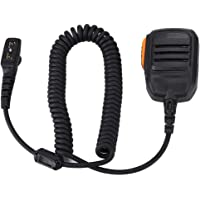 Walkie Talkie Handheld Speaker Microphone with Magnetic Ring Waterproof Walkie Talkie PTT Speaker Mic for HYT Hytera PD700 PD700G PD780 PD780G PD780GM PD788 Two Way Radio