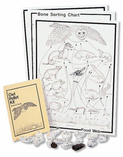 Barn Owl Pellet Classroom Kit (Owl Pellet Skeleton)