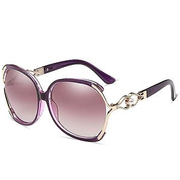 QDE Gafas de sol Gafas De Sol Blancas De Warp para ...