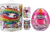 Poopsie Slime Surprise Unicorn, Rainbocorn, JoJo Siwa Unicorn Lip Gloss Slime Surprise Slime Bundle (Orange rainbocorn)
