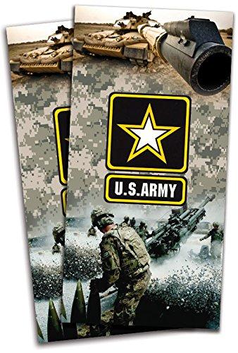 US Army Cornhole Bag Toss Wrapsセット – 3 M高光沢ビニールエアリリース – ラミネート – 24 x 48