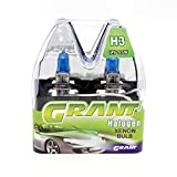 GRANT H3 Halogen Xenon Bulbs 55W 5000K Super White DC 12V Automobiles Head Replacement Lamps Lights Bulbs for Audi a6 a4(H3)