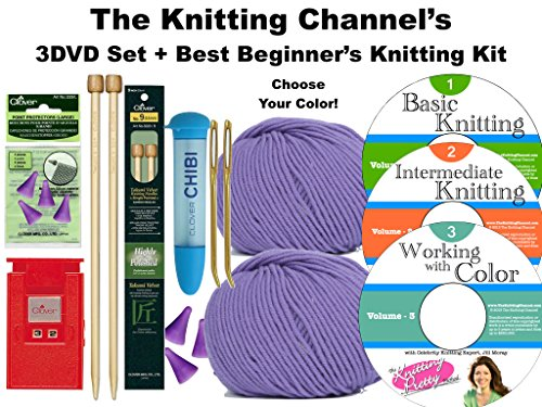 Knitting Materials For Beginners : Compare price to knitting supplies for beginners