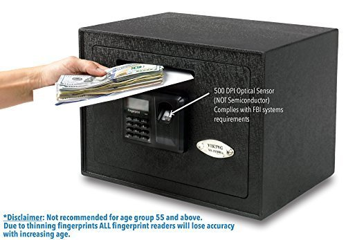 Viking Security Safe VS 25DBL Fingerprint