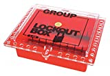 Group Lockout Box, 27 Locks Max, Red