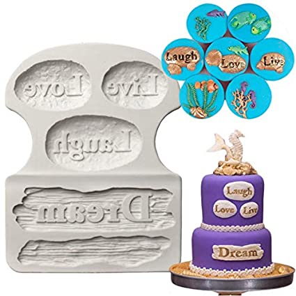 Amazon Com 1 Piece Dream Driftwood Word Stones Silicone Mold