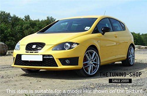 /15/Gear polainas Blanco fr de piel italiana bordado Logo Para Seat Leon Mk3/2012/