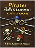 Best Dover Publications Kid Books For 3 Year Olds - Dover Publications-Pirates Skulls & Crossbones Tattoos Review