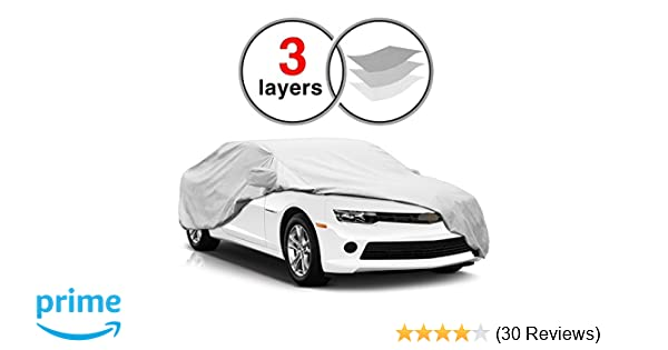 Custom Fit Chevy Camaro Car Cover For 2010 2016 Kakit 3 Layers Scratch Proof Waterproof Windproof Dustproof Camaro Cover