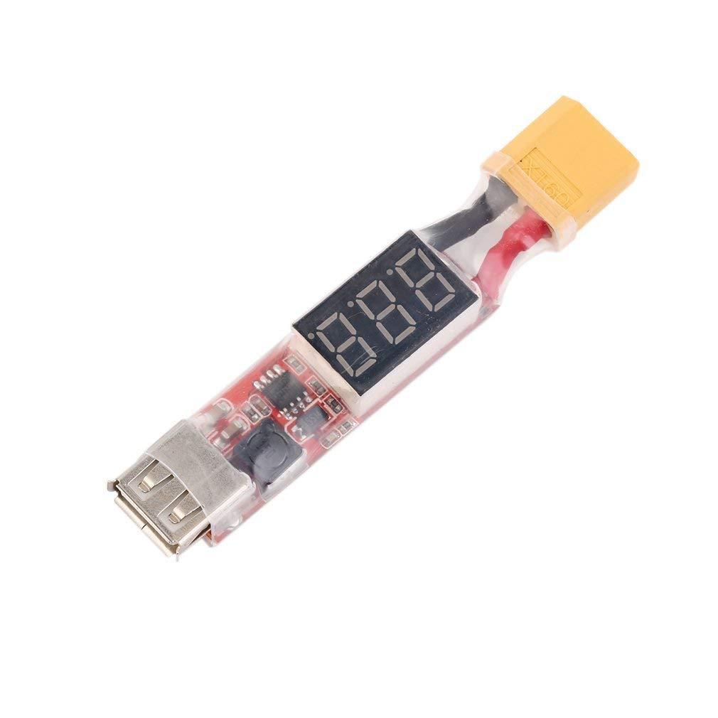 Trifycore 2S-6S Lithium Chargeur de Batterie convertisseur Xt60-plug avec Affichage de la Tension, RC Aircraft équilibre Chargeur
