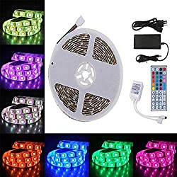 Light Kit Rgb Outdoor Lights Boat Lights Truck Lights Exterior Lights Under Cabinet Lighting Complete Waterproof Outside Lights Led Strip Lights Kit 5050 12v 44key Ir Remote Control Power Supply