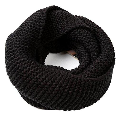 1PCS Winter Warm Knitted Thicken Neckerchief -Neck Warmer Scarf Soft Shawl