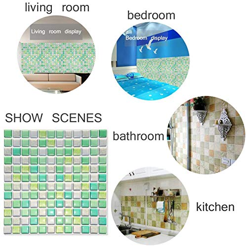 - DIY Self Adhesive Wall Tile Stickers | Kitchen Bathroom Home Scrapbooking Stickers