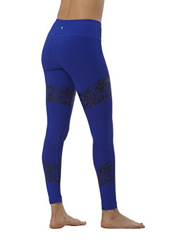 5c0bf3dcdd 90 Degree By Reflex Color Contrast Design Leggings at Amazon Women s  Clothing store