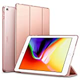 ESR iPad 2017 iPad 9.7-inch Case, Lightweight Smart Case Trifold Stand with Auto Sleep/Wake Function, Microfiber Lining, Hard Back Cover for Apple iPad 9.7-inch,Rose Gold