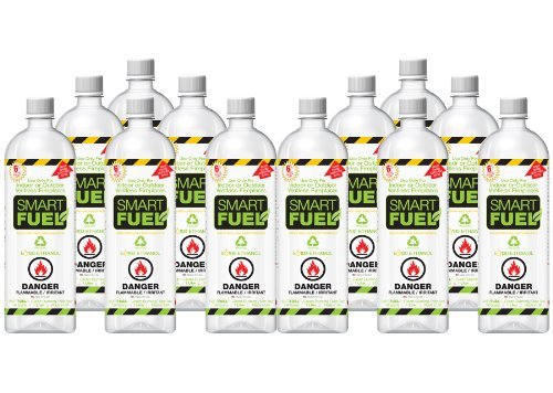 SMARTFUEL Bio-Ethanol Fireplace Fuel : 1 Case (12 liters) by SMART FUEL