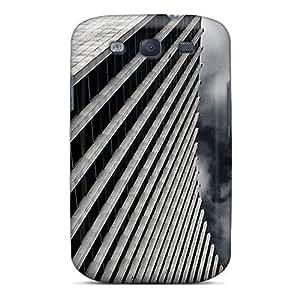 For SamSung Note 3 Case Cover Hard (dark Skyscraper)