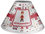 RNK Shops Firefighter Coolie Lamp Shade (Personalized)