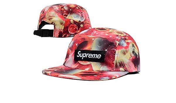 Hip Hop ajustable Supreme Snapback Gorra de béisbol de Lu: Amazon ...