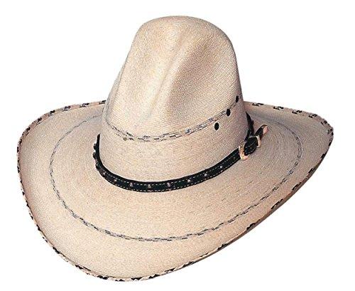 Bullhide Prescott 20X Palm Leaf Straw GUS Western Cowboy Hat