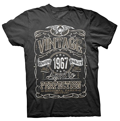 Vintage Aged Perfection 1967 Distressed