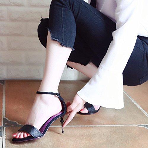 149c2c08 Bueno wreapped YMFIE Hueco de verano y los zapatos de tacón alto estilo  europeo simple moda