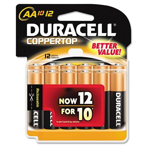 Battery Alkaline Cu Top 12/Aa