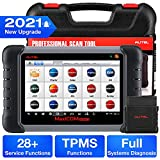 Autel Scanner MaxiCOM MK808TS, 2021 Newest OBD2 Diagnostic Scanner with Complete TPMS and Sensor Programming Scan Tool 28+ Service Functions for All Systems Advanced Version of MK808/MK808BT