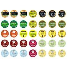 Crazy Cups Decaf Tea Sampler, K-Cup Portion Pack for Keurig K-Cup Brewers, Pack of 35