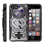 Cheap TurtleArmor | Compatible for Apple iPhone 7 Case | (4.7″) [Octo Guard] Dual Layer Case Holster Belt Clip Sturdy Kickstand Cover – Classic Game Controller