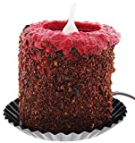 "Warm Glow Candle Company 5"" Hand Dipped Electric Candle (Homespun Harvest)"