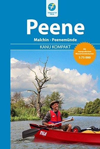 Kanu Kompakt Peene mit topografischen Wasserwanderkarten