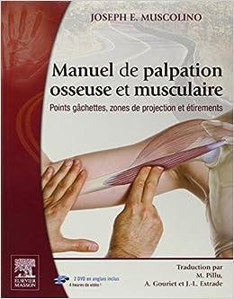 gratuit manuel de palpation osseuse et musculaire